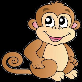 Number clipart monkey Resultado monkey images para clip