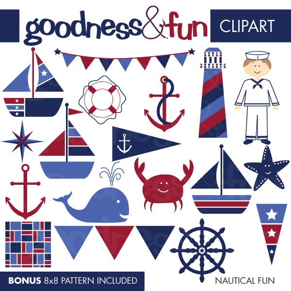 Sailing Boat clipart nautical theme Cliparts Illustrations Illustrations Free