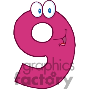 Number clipart nine 10 Free Clipart Images Panda