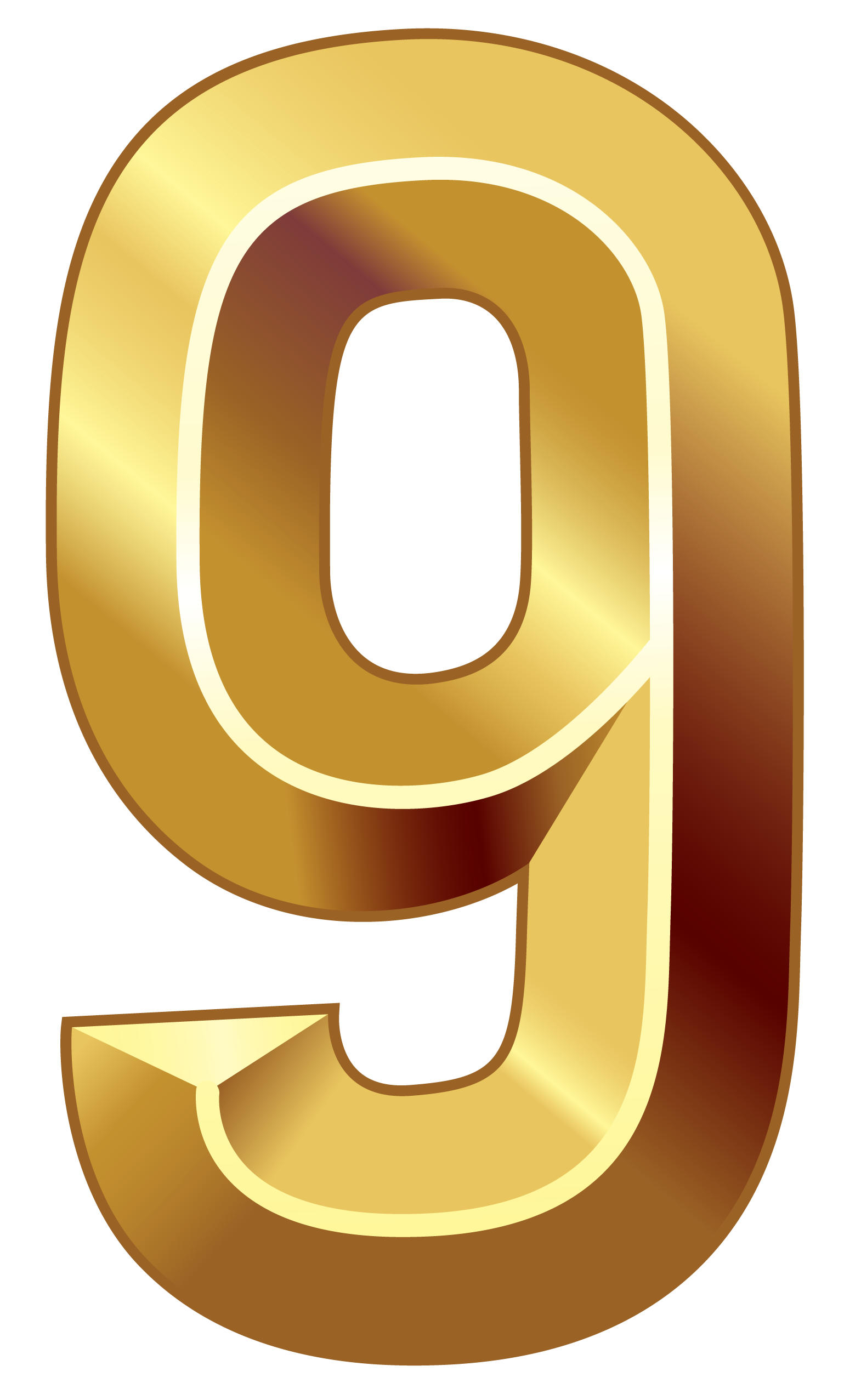 Number clipart nine Number Clipart size Gallery PNG