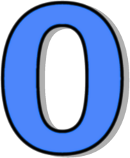 Number clipart number 0 Outlined 2 0 Page Number