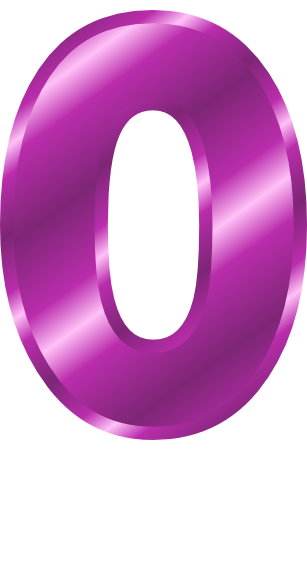 Number clipart number 0 0 Purple Clipart Download Number