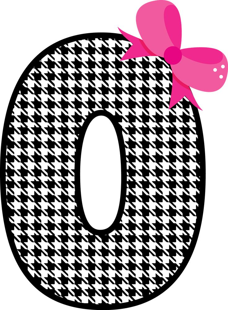 Number clipart number 0 0 Numbers & on art