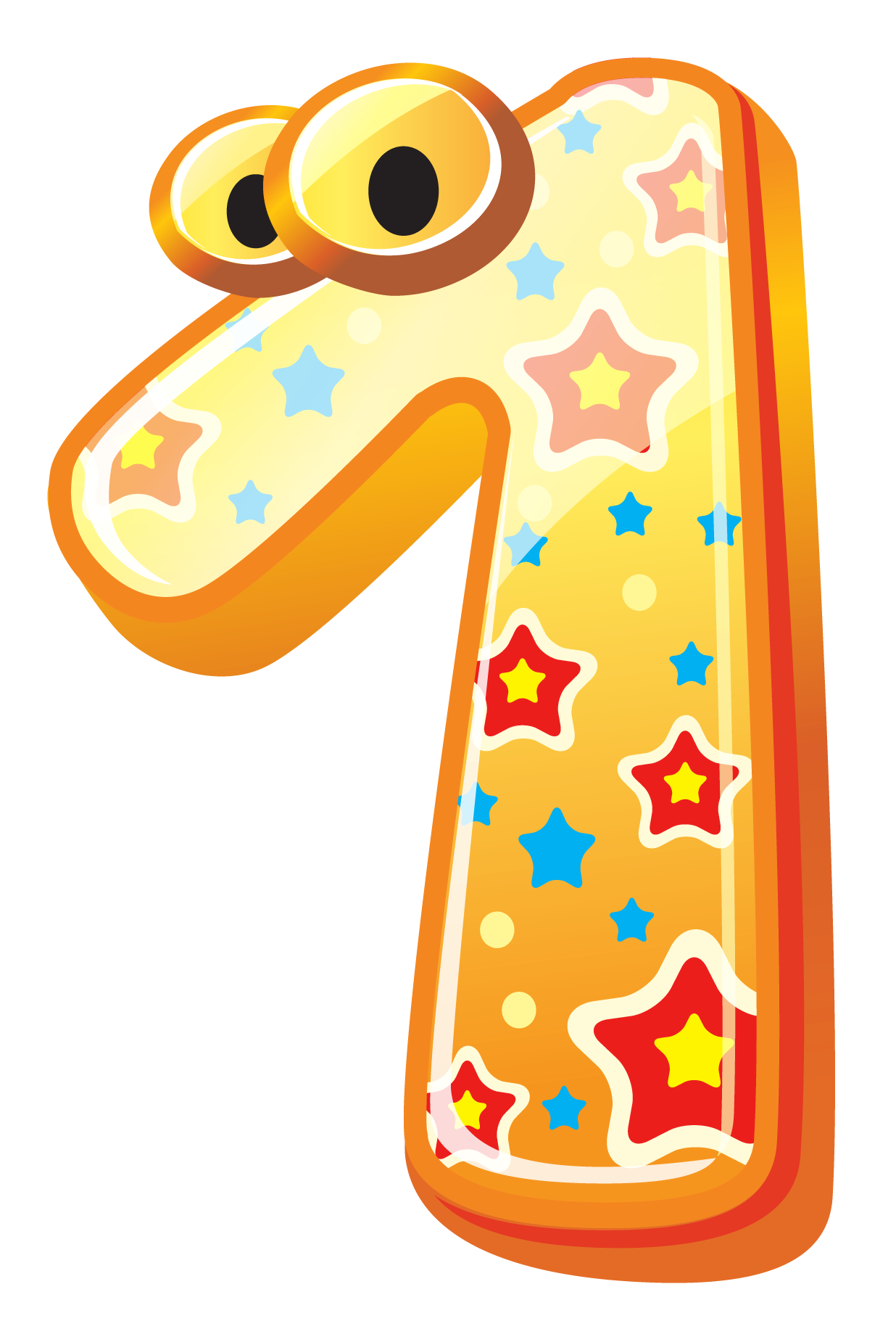 Number clipart number one Cute image image number clipart