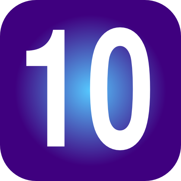 Number clipart number ten Clip royalty Download  at