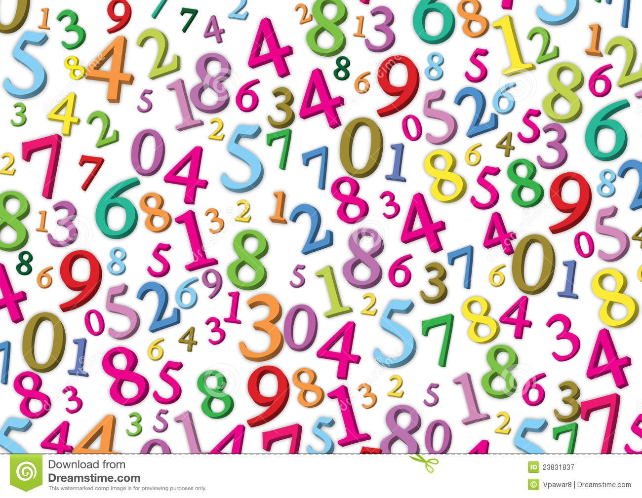 Number clipart number wallpaper Com clipartsgram Wallpaper Numbers Numbers
