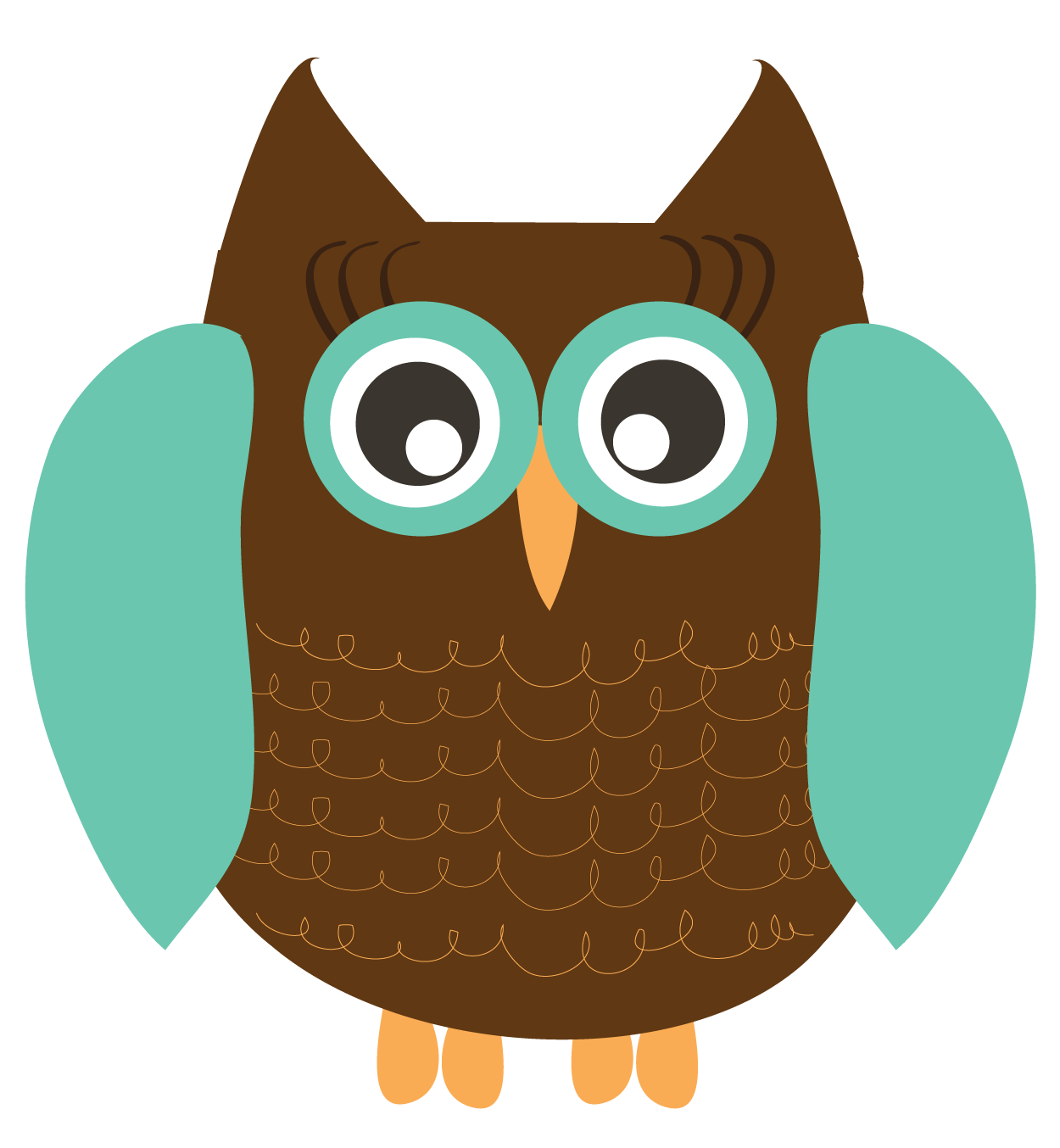 Owl clipart cute Clip for 2 owl owls