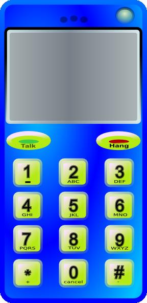 Number clipart phone  online Clip art Download