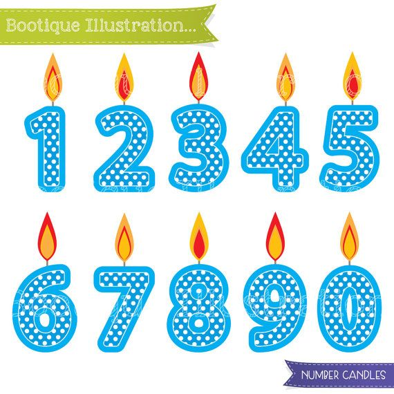 Number clipart polka dot number Dot blue images Clipart about