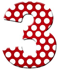 Number clipart polka dot number About best Minnie 2 NUMEROS