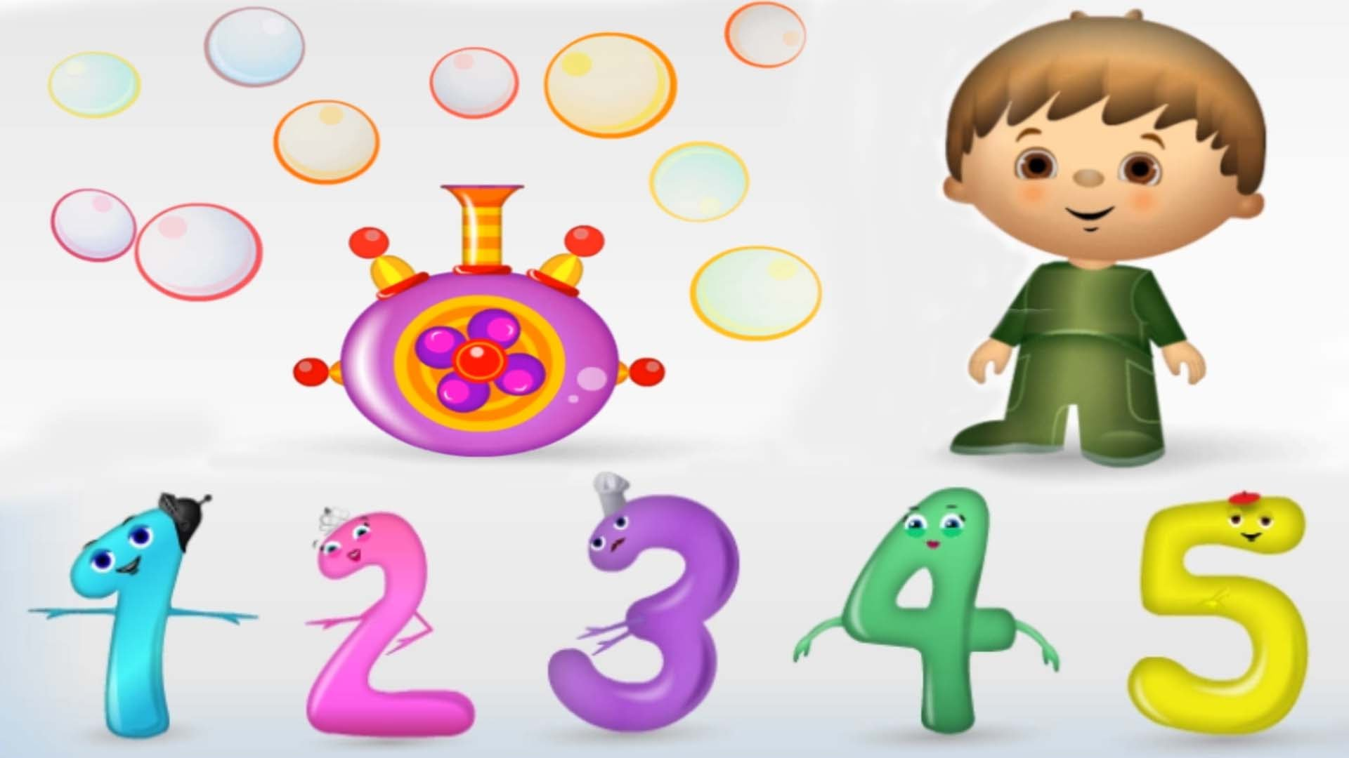 Video Game clipart children activity 1 Fun Kids Numbers for