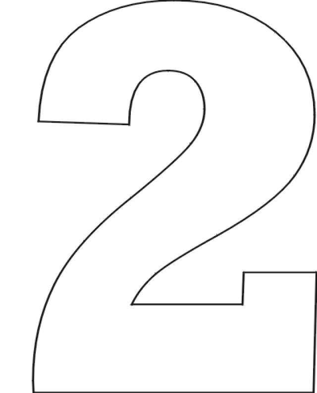 Number clipart printable Set Stencils numbers stencils Number