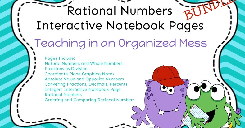 Number clipart rational number Interactive Teaching System an in