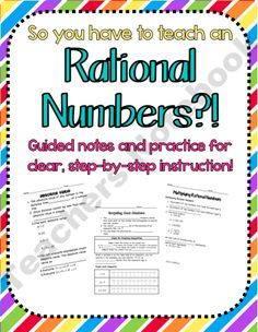 Number clipart rational number Knows Rational Graphing Rational School
