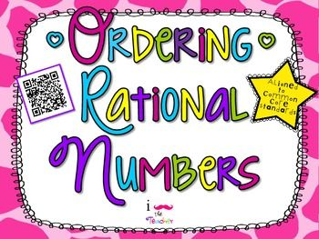 Number clipart rational number Numbers Rational Numbers**QR Rational about