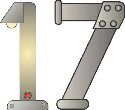 Number clipart seventeen #11