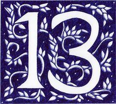 Number clipart thirteen Purple Clipart 13 Thirteen Number