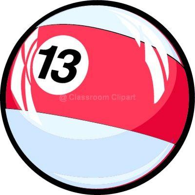 Number clipart thirteen Thirteen : Clipart Numbers thirteen