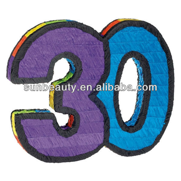 Number clipart thirty Manufacturers Pinata Number Number Manufacturers
