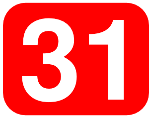 Number clipart thirty Online Thirty Number One Thirty