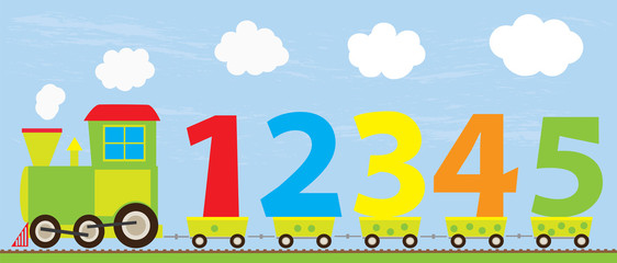 Number clipart train Illustration photos with