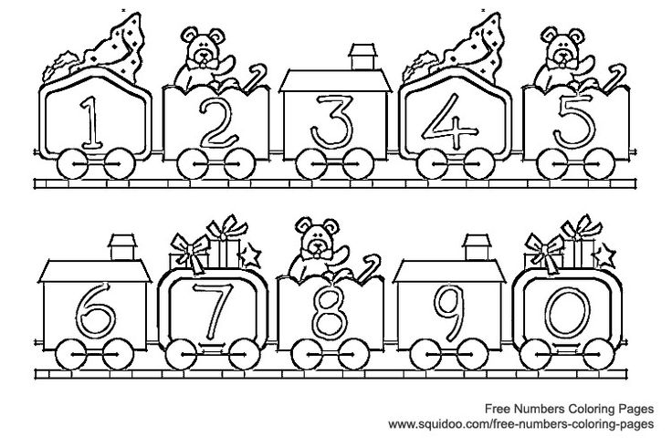 Number clipart train Clip Art clipart on Page