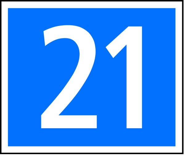 Number clipart twenty The number Free Number This