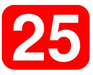 Number clipart twenty Twenty online clip Twenty Clker