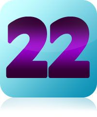 Number clipart twenty two # on # Pinterest 137