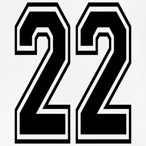 Number clipart twenty two Shirts Spreadshirt Shop 22 T