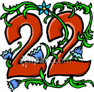 Number clipart twenty two « 47 Three & Edwards
