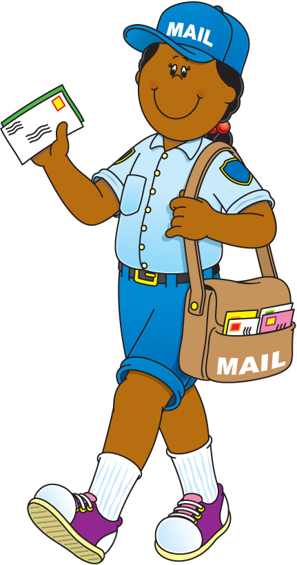 Community clipart cartoon Clipart collection School Helper: Mail