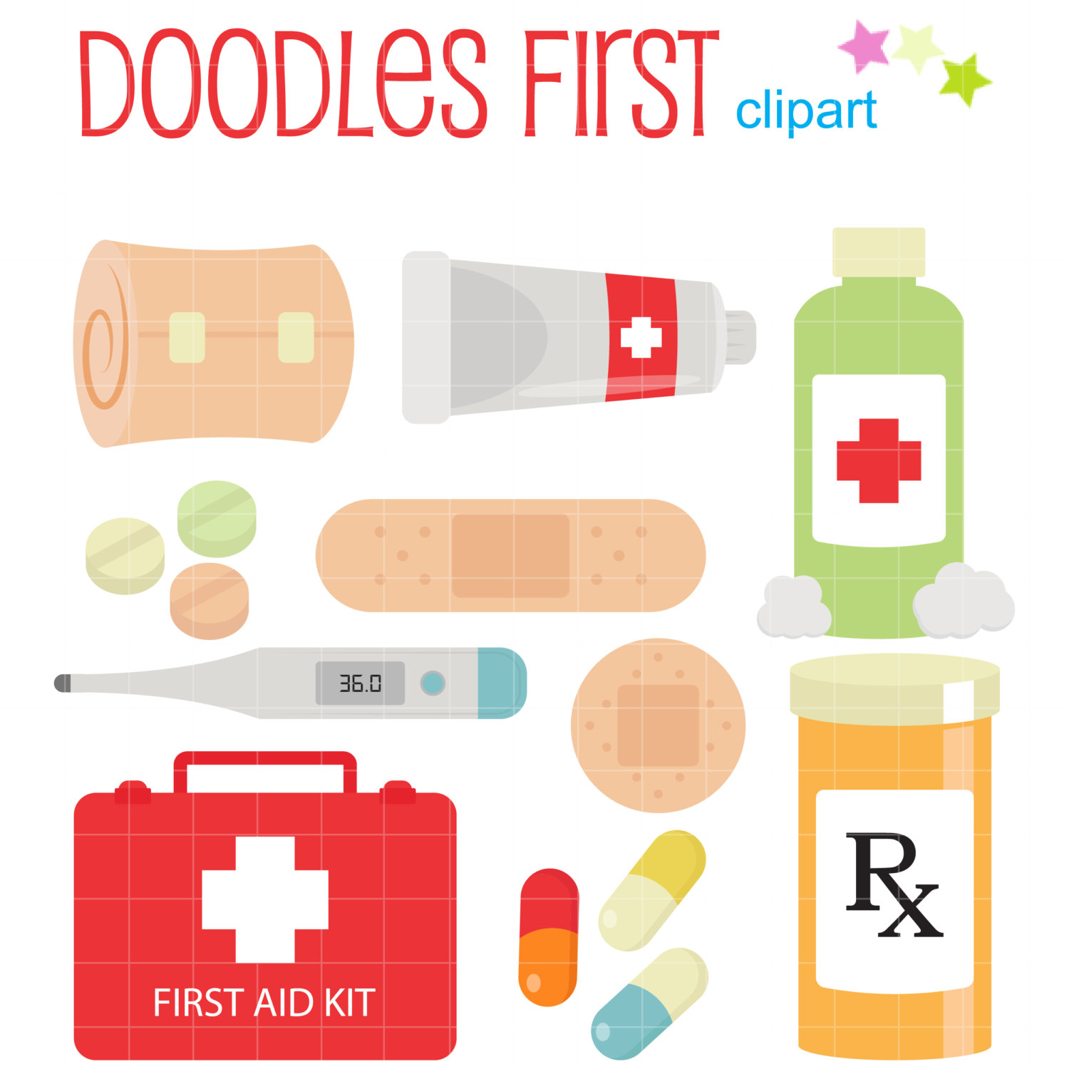 Fist clipart aid kit For Paper Art Making Kit