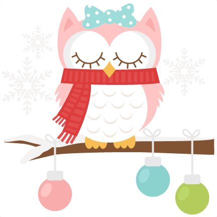 Owlet clipart winter Owl Art Pinterest Winter SVG