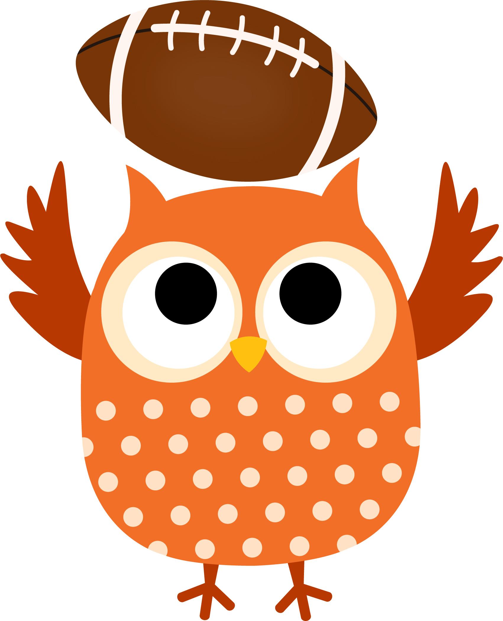 Football clipart owls Owl football Sullivan Elementary School