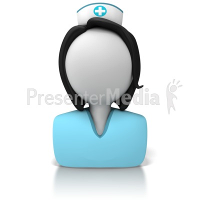 3D clipart nurse Great Signs Nurse  Icon