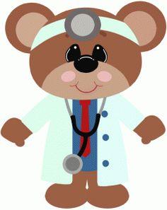 Teddy clipart nurse Silhouette Teddy this and Molde