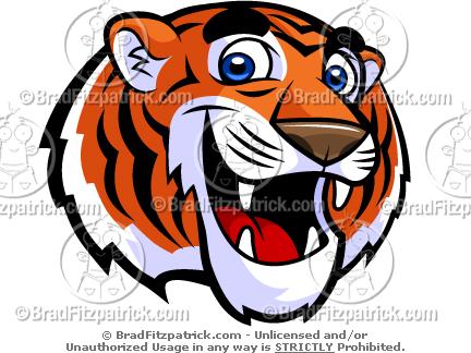 Graduation clipart tiger Cute Cute Mascot Pictures Art!