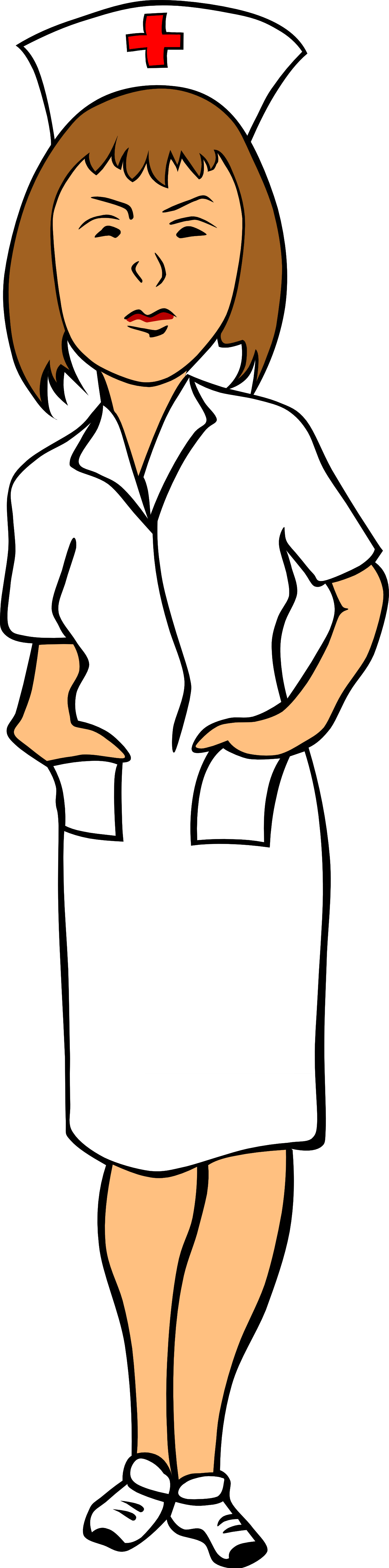 Phone clipart nurse #7