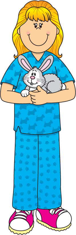 Pet clipart community worker Assistants Clipart Veterinary Art Assistants