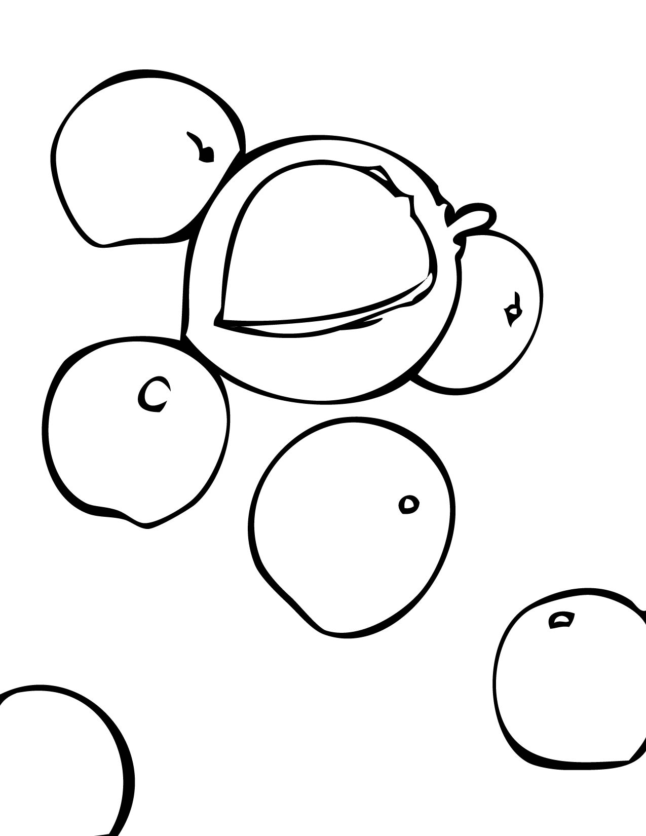 Nut clipart coloring Clipart Clipart DrawingImage Nut Coloring