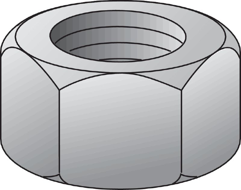 Nut clipart hexagonal (imperial) Hexagon Accessories nut USA