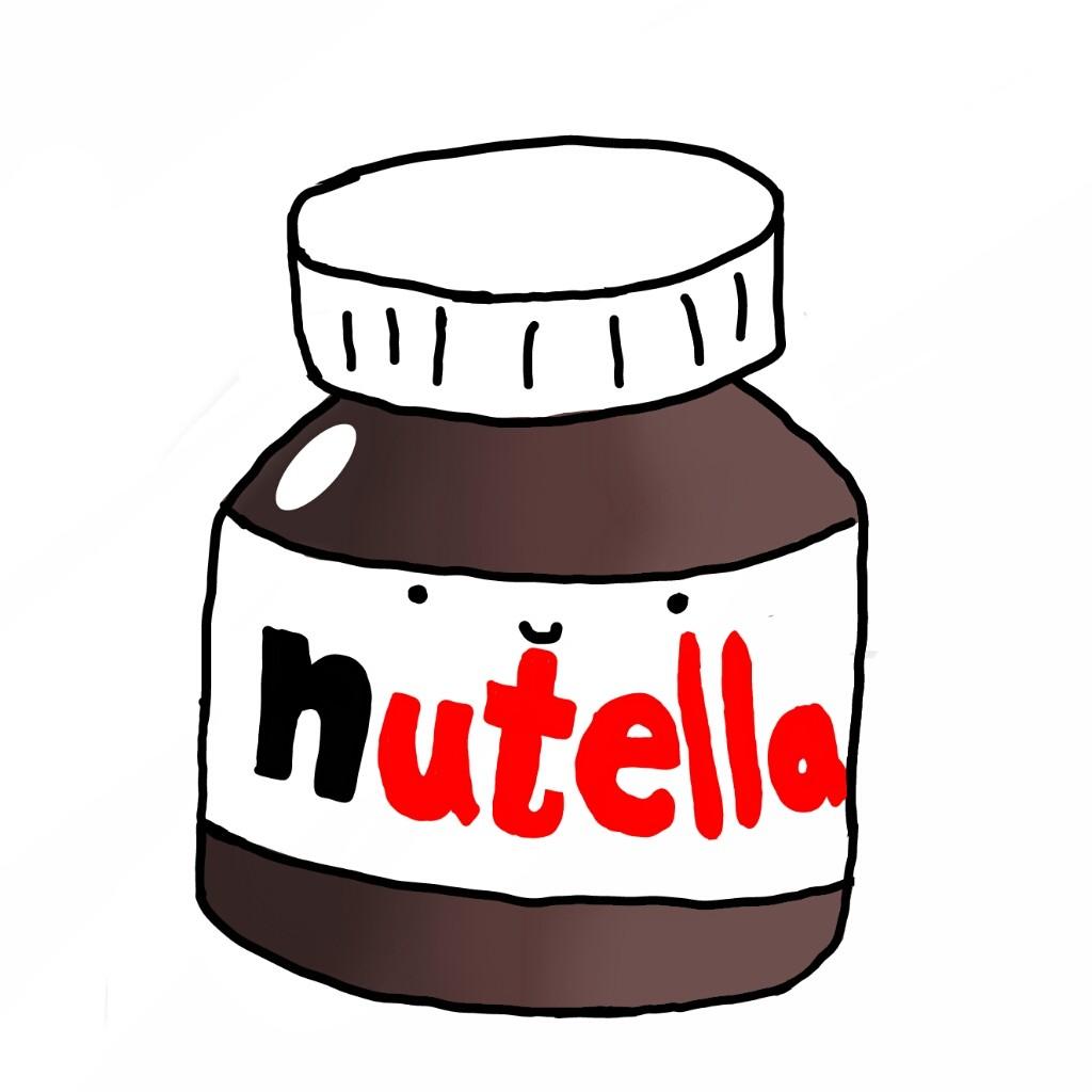 Nutella clipart Transparent nutella :P  love