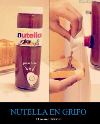 Nutella clipart bottle We food images Heart nutella