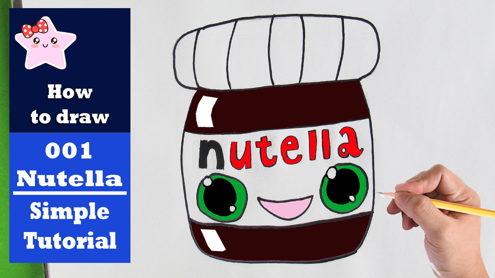 Nutella clipart cartoon Nutella To Beginners Tutorial How