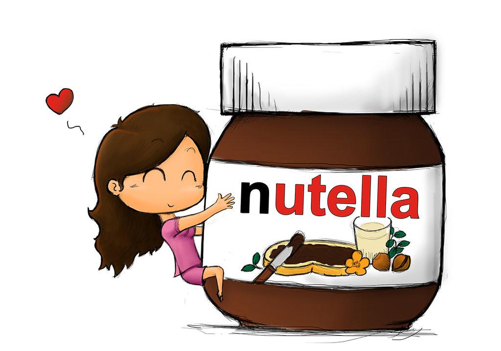 Nutella clipart cartoon Ffee Pinterest and nutella Pinterest