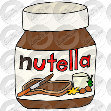 Nutella clipart cartoon Picture Clipart Therapy Nutella for