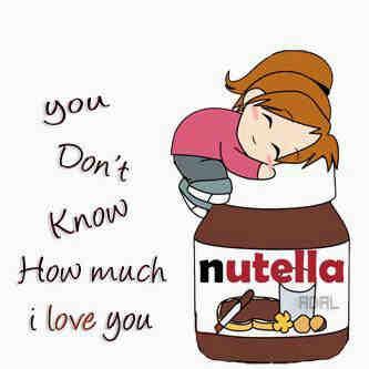 Nutella clipart cute Funny funny cartoon Nutella Yummy