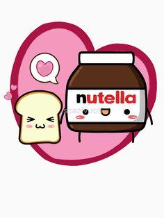 Nutella clipart cute More Buscar kawaii i Girly