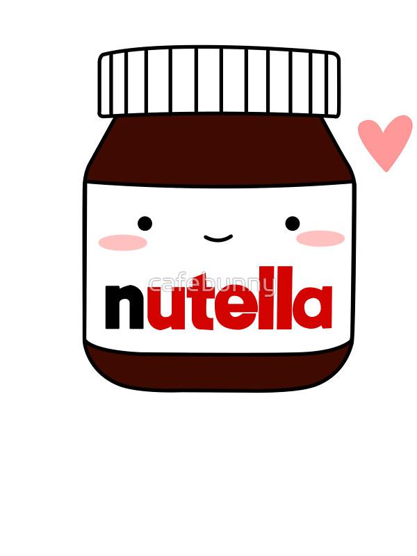 Nutella clipart cute Cafebunny by Cute cafebunny jar